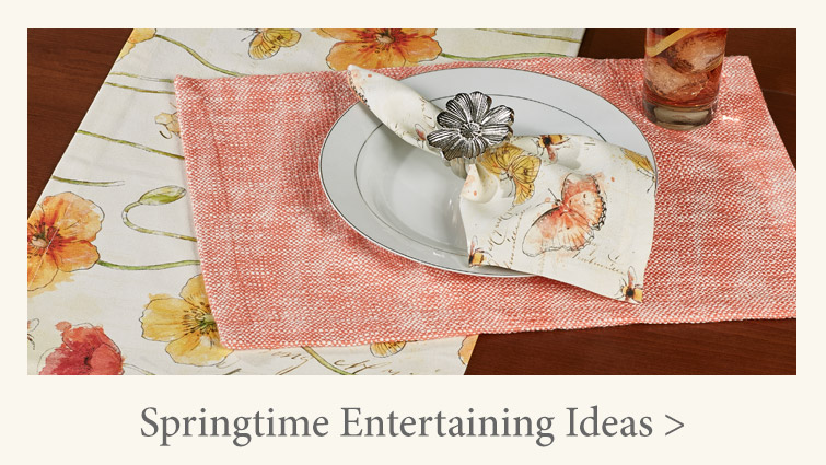 Springtime Entertaining Ideas