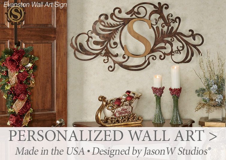 Personalized Wall Art Signs by JasonW Studios make the perfect gift for family and friends >