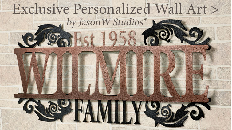 Personalized Wall Art from JasonW Studios