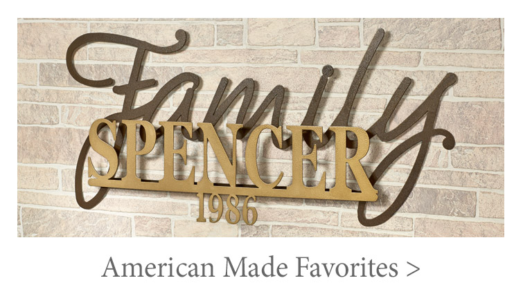 Shop some of our American Made Favorites