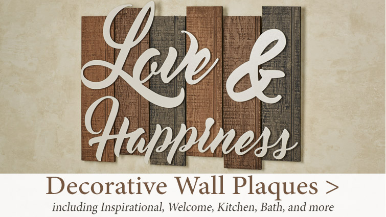 Shop our wide selection of Wall Plaques and Signs