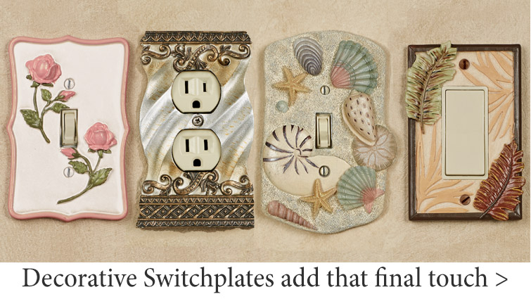 Decorative Switchplates Add That Final Touch
