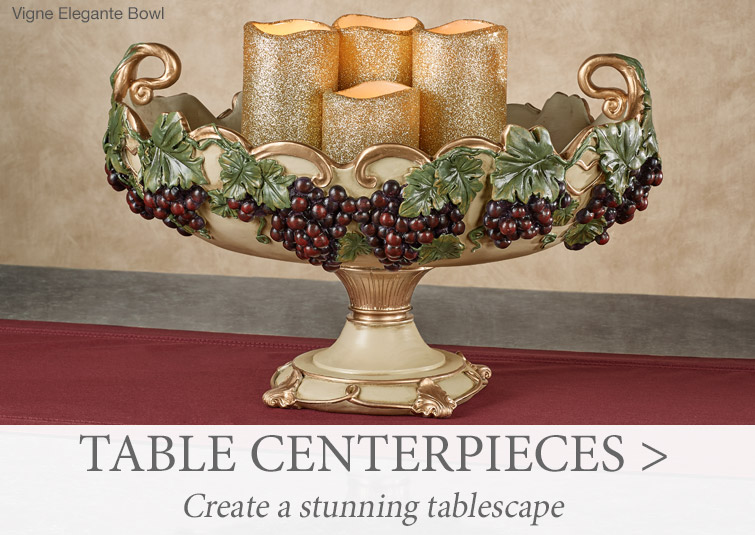 Decorative Table Centerpieces, Bowls, and Trays