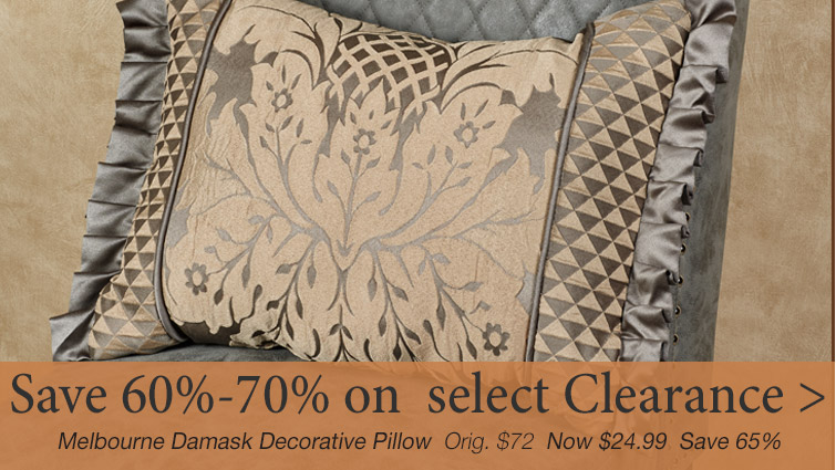 Select Clearance Accents now reduced 60%-70% off original retails