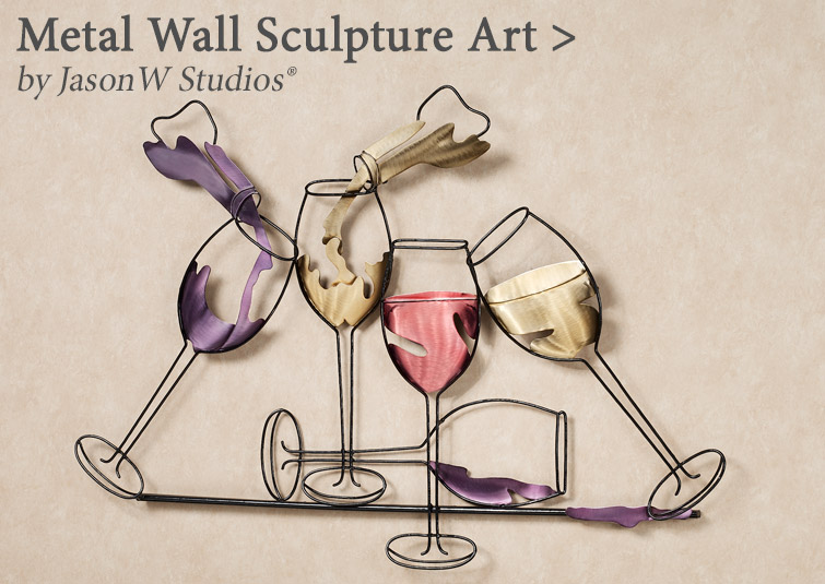 Shop Metal Wall Sculptures from the JasonW Studios Collection