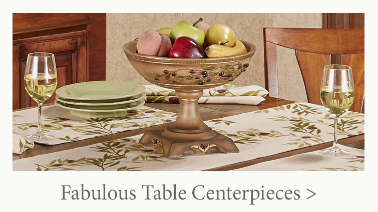 Fabulous Table Centerpieces for your dining table, console table, and more!