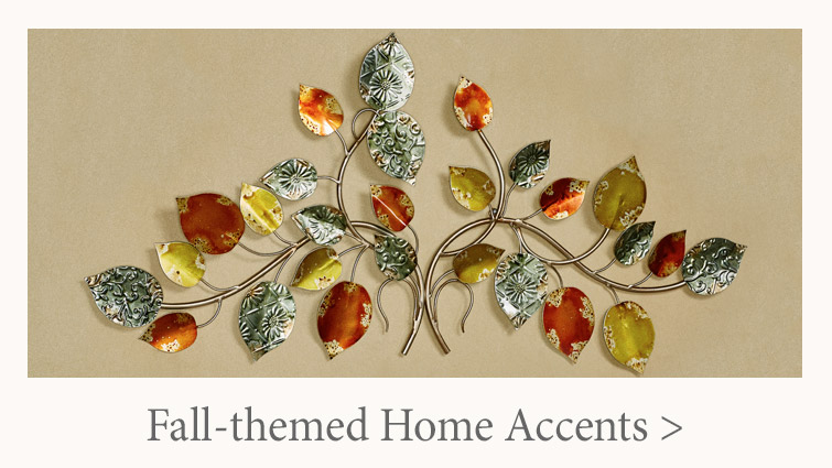 Autumn-themed Home Accents