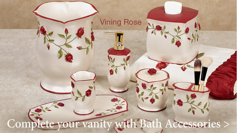 Complete your vanity with Bath Accessories