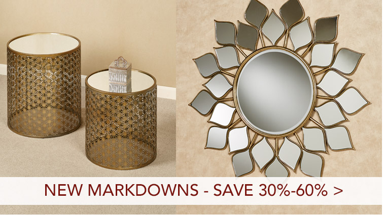 Save 30%-60% on Recent Markdowns