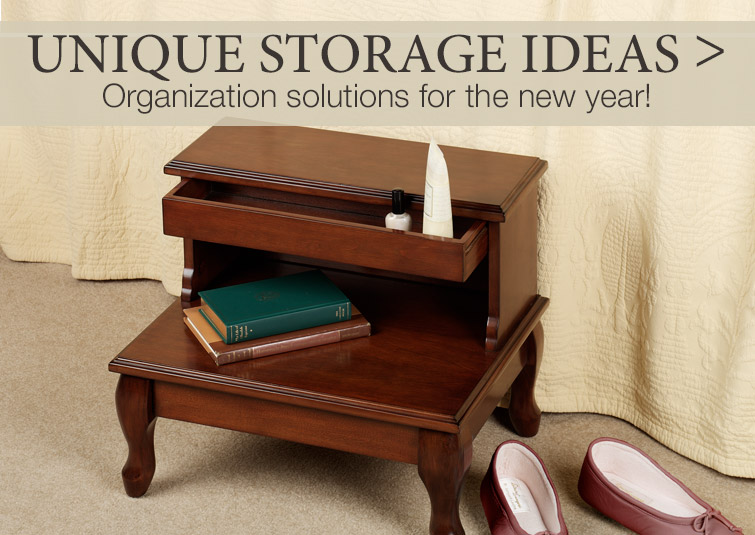 Unique Storage Solutions