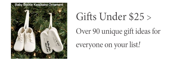 Over 90 unique Gift Ideas Under $25 for Everyone On Your List
