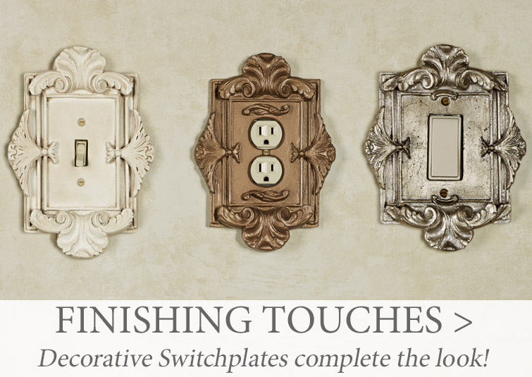 Decorative Switchplates add the finishing touch to your remodel project >