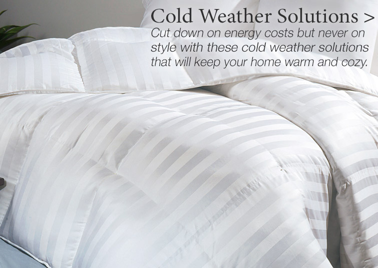 Cold Weather Solutions to keep your home warm and cozy