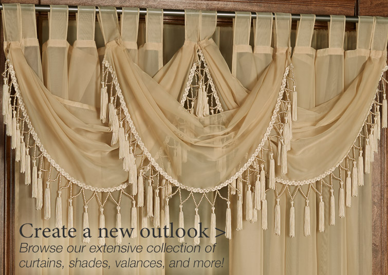 Create a new outlook with our extensive collection of window treatments