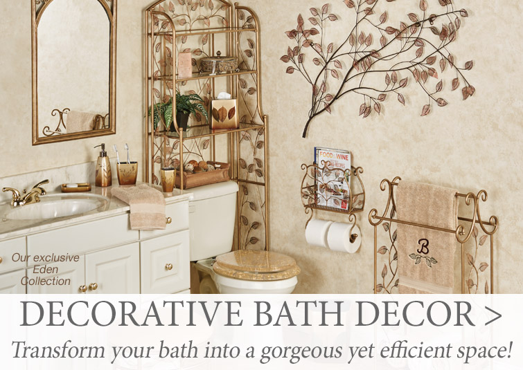 Transform your bathroom into a gorgeous yet efficient space >