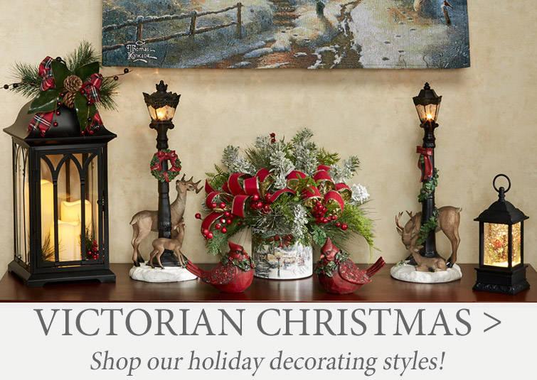 Shop our 2020 Holiday Decorating Styles >