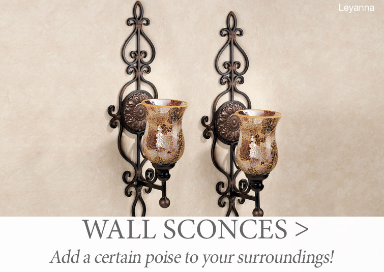 Shop our Decorative Wall Sconces >