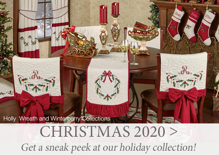 Get a sneak peek at our 2020 Christmas Collection >