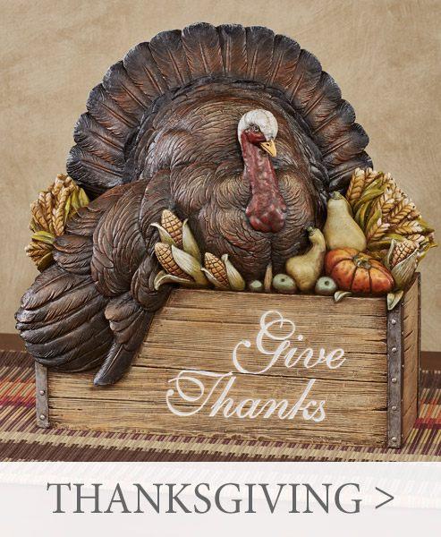 Shop Thanksgiving Decor >