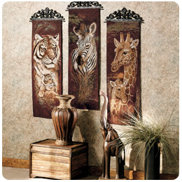 Attractive Area Rugs U003e · Safari Style Art