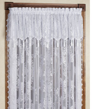 Carly Lace Window Treatment