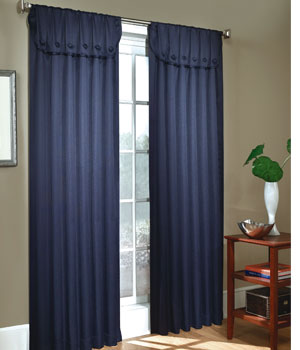 Herringbone Tailored Curtain Panels