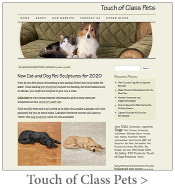 Touch of Class Pets Blog