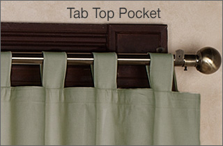 Tab Top Curtain Panel