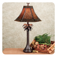 Palm Tree Tropical Table Lamp