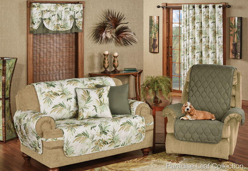 Tropical Style Home Decorating and Tropical Decorating Tips Touch