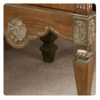 Tuscan Magazine End Table Detail