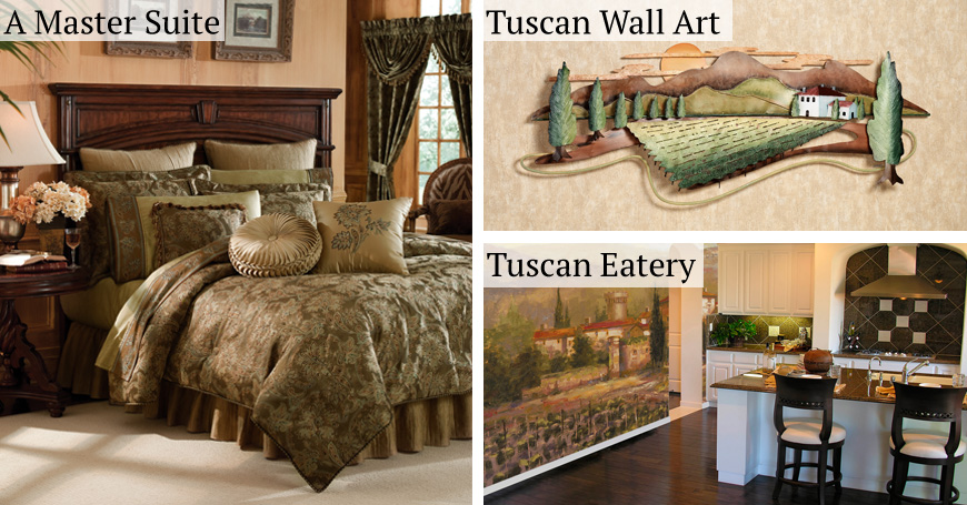 Tuscan Decorating Theme Header
