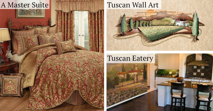 Tuscan Italian Style Home Decorating and Tuscan Decorating Tips ...