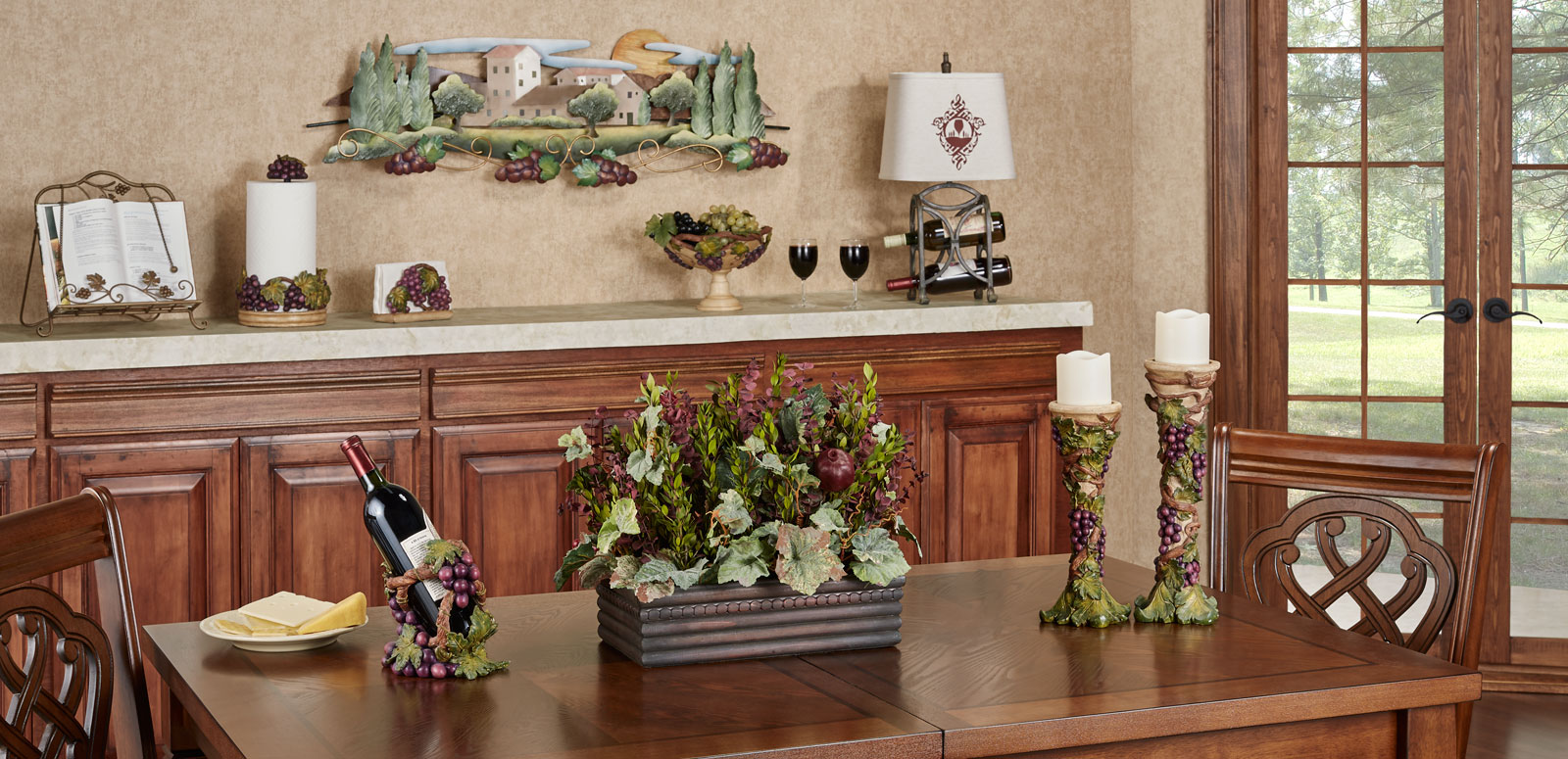 Grapes Kitchen Decor | Touch of Class