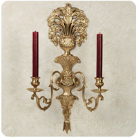 Jaida Double Taper Wall Sconce