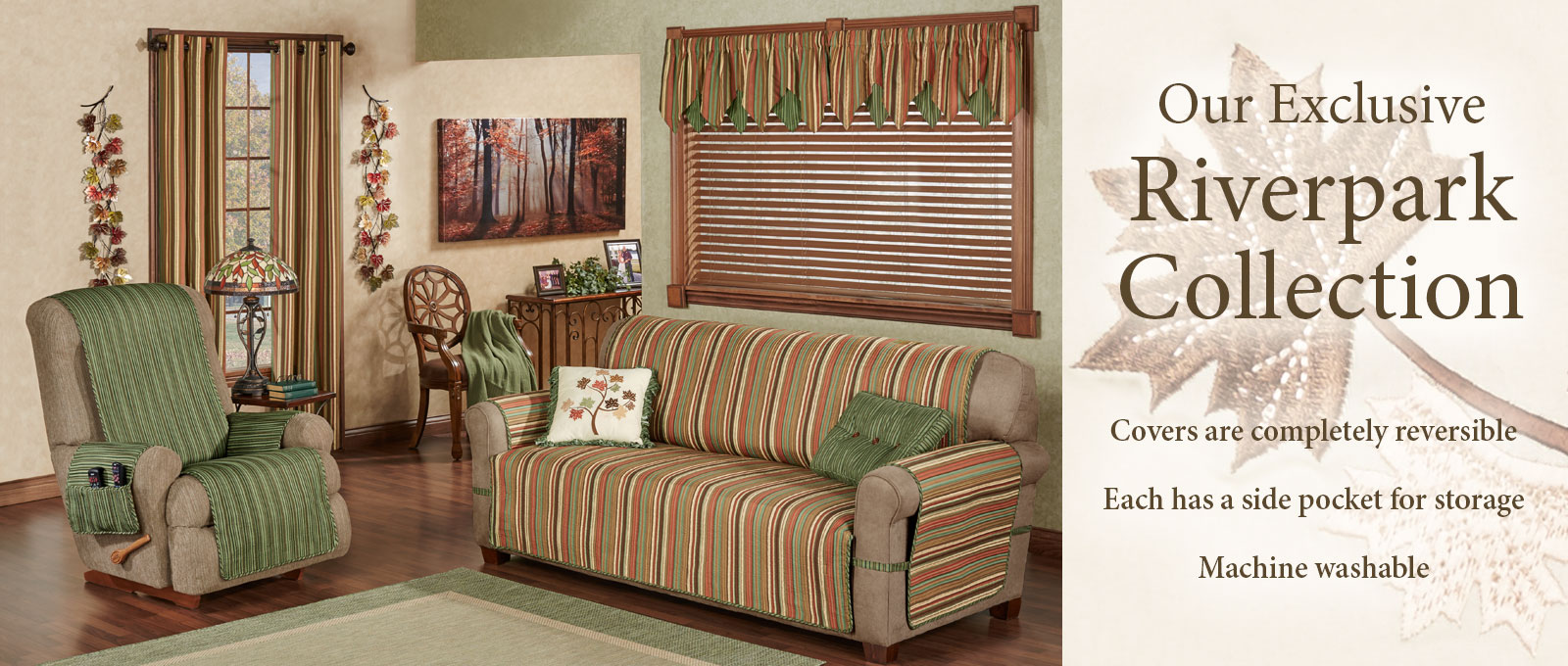 Riverpark Furniture Cover Collection