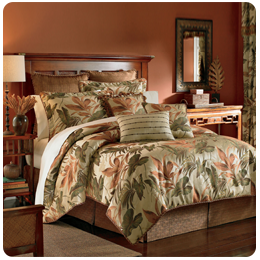 Tropical Bedroom Bedding