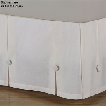 Box Pleat Bedskirt