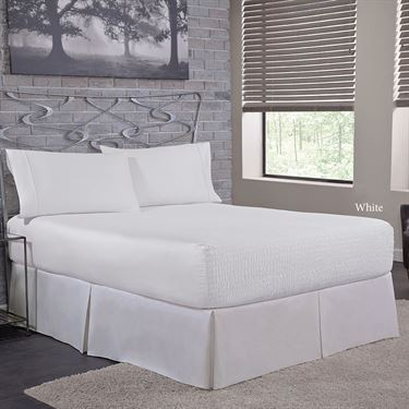Fitted Sheet in White