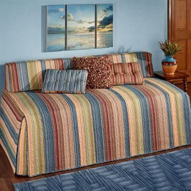 Striped Hollywood Daybed Cover