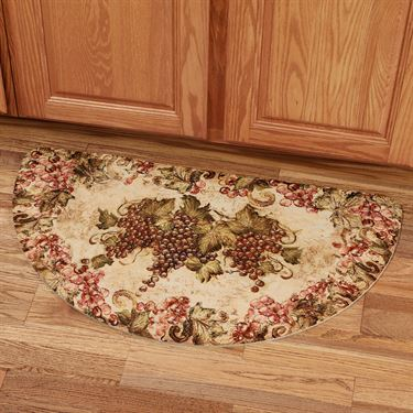Kitchen and dining room home accents touch of class for Kitchen rugs with fruit design
