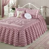 Intrigue Ruffled Chenille Grande Bedspread