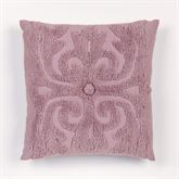 Intrigue Chenille Square Pillow 18 Square