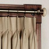 Crosby Pinch Pleat Wide Curtain Pair 144 x 84