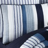 Nantucket Dream Quilted Sham Blue Standard
