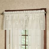 Hydrangea Tailored Valance  54 x 18
