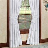 Forget Me Not Tailored Curtain Pair