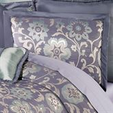 Milana Floral Tailored Sham Slate