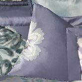 Milana Floral Tailored Square Pillow Slate 18 Square