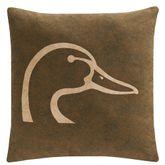Ducks Unlimited Chestnut Pillow Multi Warm 20 Square